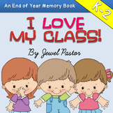 End of the Year Activities (End of Year Memory Book Kinder