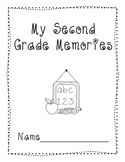 End of Year Memory Book K-5