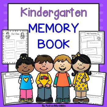 End of Year Memory Book- Kindergarten