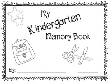 End of Year Memory Book Kindergarten-2nd Grade
