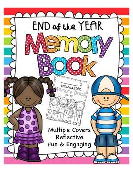 End of Year Memory Book - NO PREP!