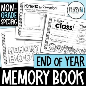 End of Year Memory Book {Non-Grade Specific}
