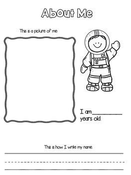 """End of Year Memory Book... """"Out of this World School Year"""""""