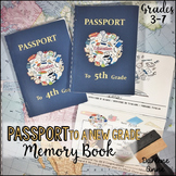 END OF YEAR MEMORY BOOK | PASSPORT STYLE