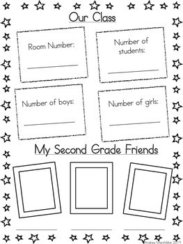 *End of Year Memory Book- Second Grade