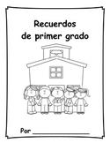 Spanish End of Year Memory Book - Recuerdos