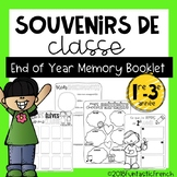 French End of Year Memory Book Yearbook