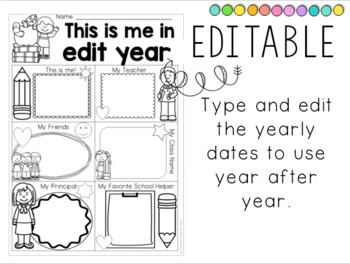 End of the Year Activities: Kindergarten and First Grade 2017/2018