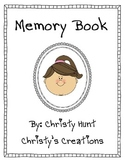End-of-Year Memory Book for 1st and 2nd Grade