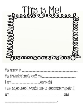 End of Year Memory Book for 3rd Grade