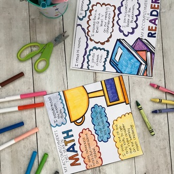 End of Year Memory Book for 4th grade
