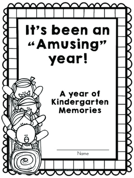 End of Year Memory Book for Grades K-2