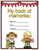 End of Year - Memory Book (with copy/paste and interactive pages)