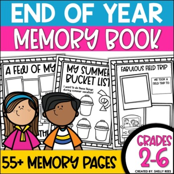 End of the Year Activities Memory Book