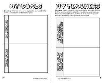 End of Year Memory Booklet Activity