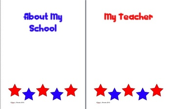 End of Year Memory Booklet for Primary - 2 Sizes and Versions