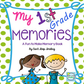 End of Year Memory Book 1st Grade