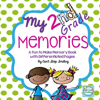 End of Year Memory Book ~ 2nd Grade