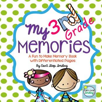 End of Year Memory Book ~ 3rd Grade