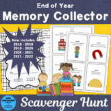 # teachers remember End of Year Memory Collector Scavenger Hunt