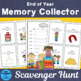 End of Year Memory Collector Scavenger Hunt