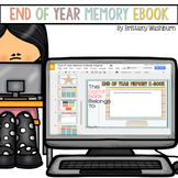 End of Year Digital Activities Memory E-book
