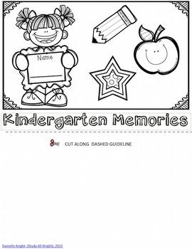 End of Year Memory Flip Book