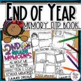 End of Year Memory Flip Book - 2nd Grade writing and craft activity