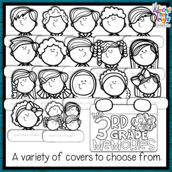 End of Year Memory Flip Book - 3rd Grade writing and craft activity