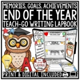 End of the Year Writing 3rd Grade 4th Grade End of the Year Memory Book  Lapbook