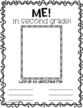 End of Year Memory Yearbook (3rd Grade)