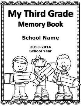 End of Year Memory Book - 3rd-5th
