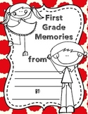 End of Year Memory/Autograph Book, First Grade