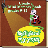 END OF YEAR MEMORY BOOK: High School Student Highlights