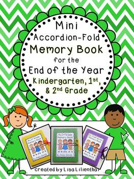End of Year Memory Book