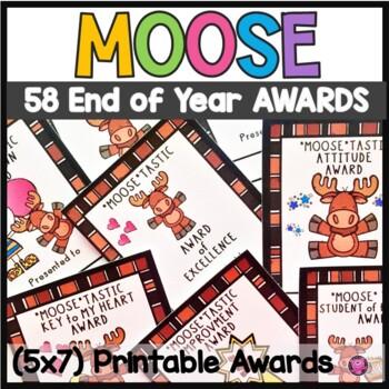 Classroom Awards Moose Theme