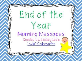 End of Year - Morning Messages