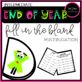 End of Year Multiplication