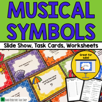 Music Games: End of Year Music Symbols Game
