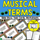 Music Activities: Musical Terms Game