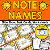 Music Activities: Note Name Game