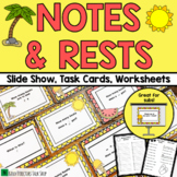 Back to School Music Activities: Notes and Rests Music Game