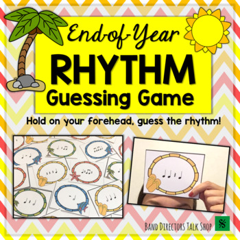 End of Year Music Activities Rhythm Game