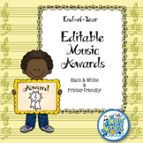 End of Year Music Awards - Editable