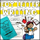 End of the Year Letter Writing Activity to Future Students