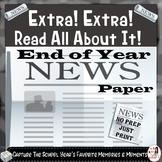 End of Year Newspaper