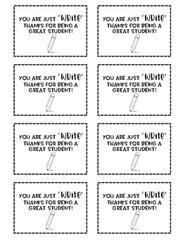 "You are just ""Write"" note for students"
