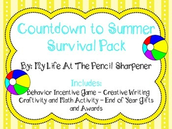 End of Year Pack - behavior supports, classroom awards, fu