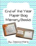 End of Year Paper Bag Memory Book