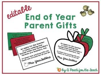 Parent Appreciation Gifts